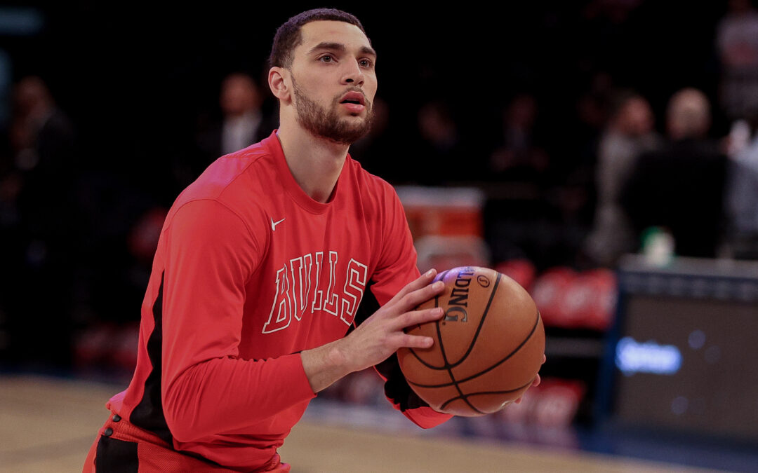 Golden State Warriors sets sights on Zach LaVine