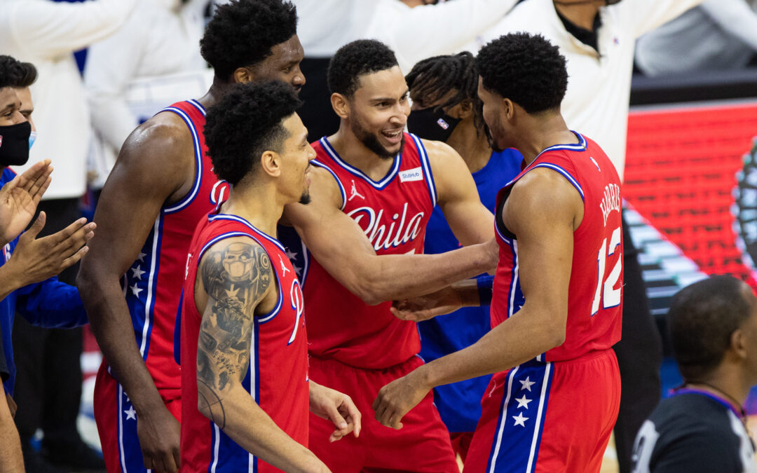 Philadelphia 76ers ends Los Angeles Lakers winning streak on the road