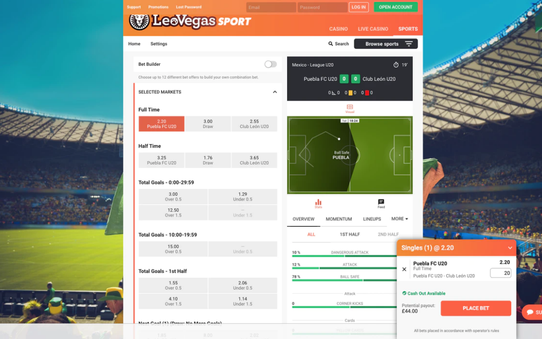 Our LeoVegas Review – A Leading UK Sportsbook